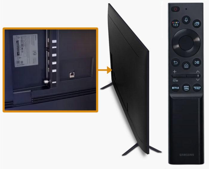 Samsung AU7100 - коммутация