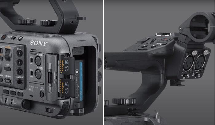 Sony FX6 - коммутация