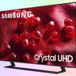 Samsung UE50AU9000U бюджетный 4K телевизор 2021 9 серии