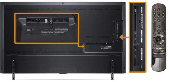 LG NANO906P - коммутация