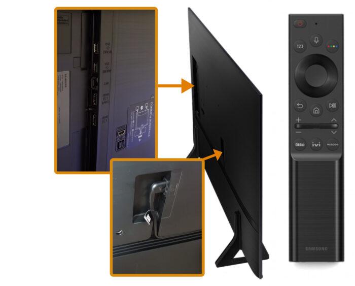 Samsung AU9000 - коммутация