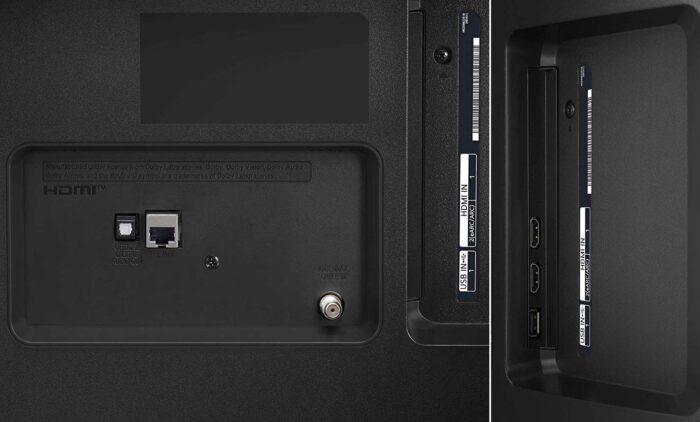 LG 55UP7600 интерфейсы