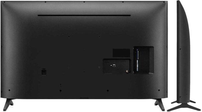 LG 55UP7600 дизайн