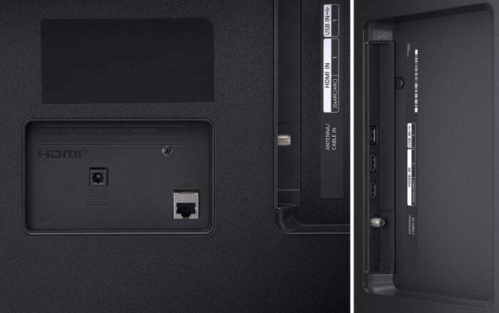 LG 55UP77006LB интерфейсы