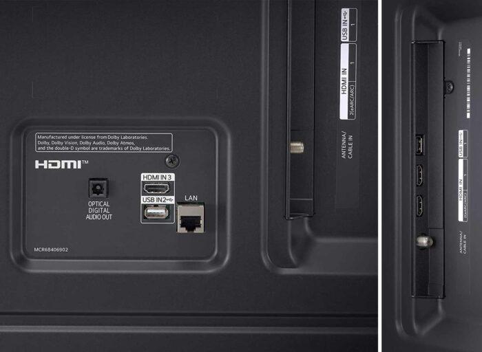LG NANO756PA интерфейсы