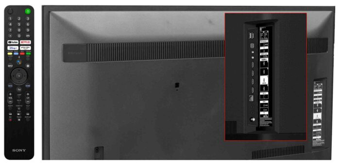 Sony X80J интерфейсы
