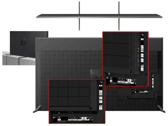 Sony X95J интерфейсы