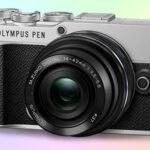 Olympus PEN E-P7 4K фотоаппарат с классическим дизайном