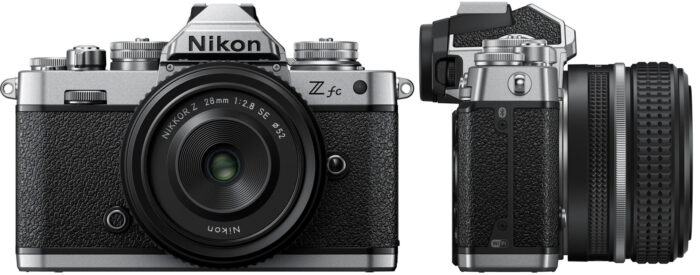 Nikon Z fc - дизайн