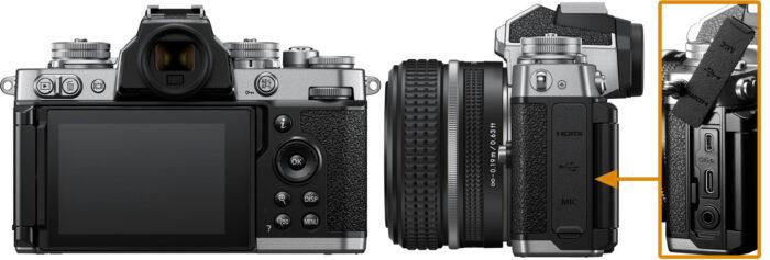 Nikon Z fc - коммутация