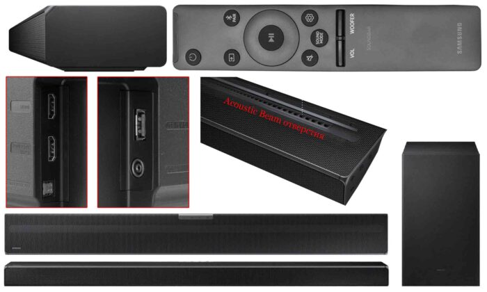 Samsung HW-Q600A интерфейсы
