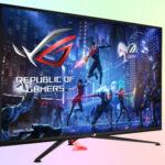 Asus ROG Strix XG43UQ большой игровой монитор 4K с HDMI 2.1