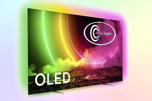 Philips 55OLED806 телевизор с HDMI 2.1 и 4-сторонней Ambilight