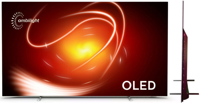 Philips OLED806 - дизайн