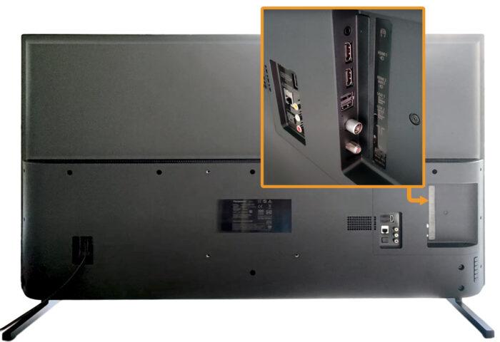 Panasonic TX-50JXR800 - коммутация