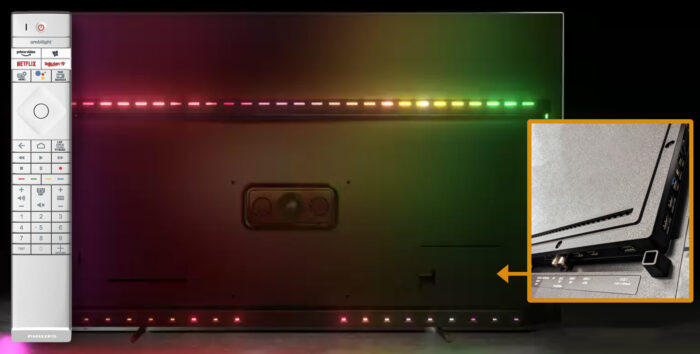 Philips OLED806 - коммутация