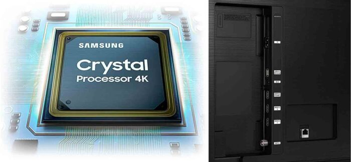 Samsung UE55AU7160 интерфейсы