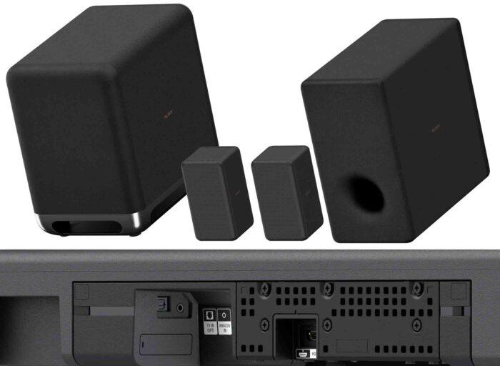 Sony HT-A7000 интерфейсы