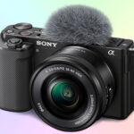 Sony Alpha ZV-E10 беззеркальная камера для видеоблогинга