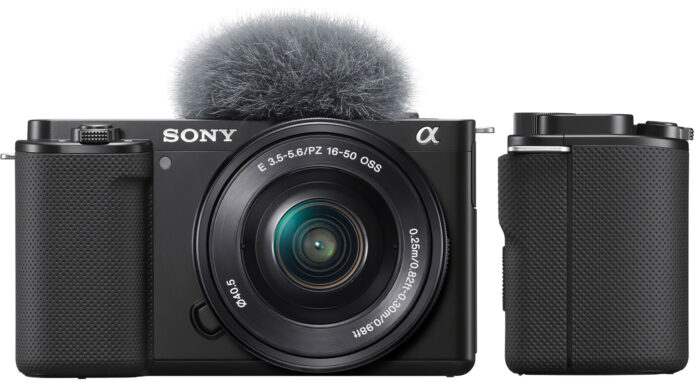 Sony ZV-E10 - дизайн
