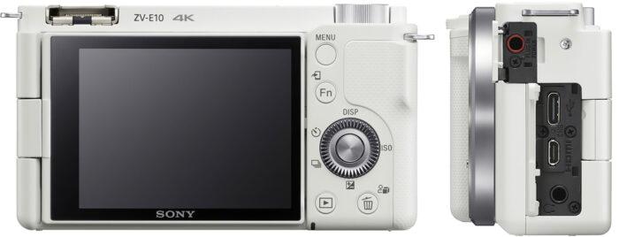 Sony ZV-E10 - коммутация