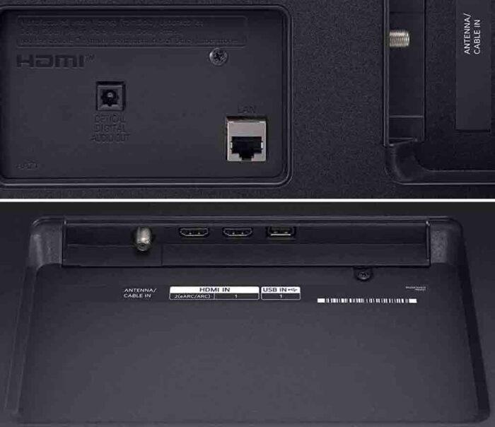 LG 43UP7690 интерфейсы