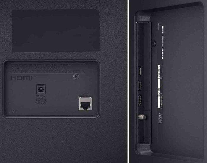 LG 65UP7800 интерфейсы