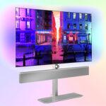 Philips 65OLED986 + 4K OLED — флагманский телевизор с B & W