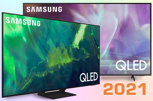 Сравнение Samsung QLED 2021