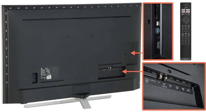 Philips 50PUS8506 - коммутация