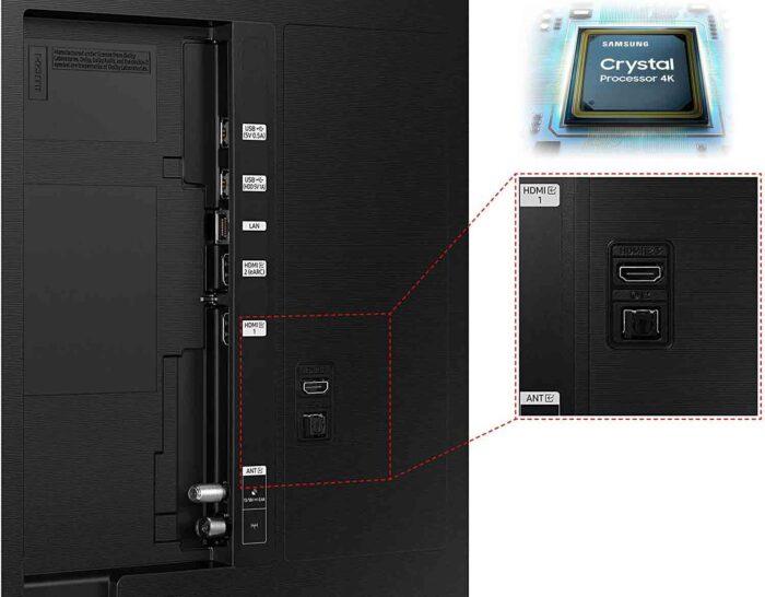 Samsung AU55AU9070 интерфейсы