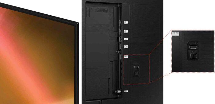 Samsung UE85AU8070 интерфейсы