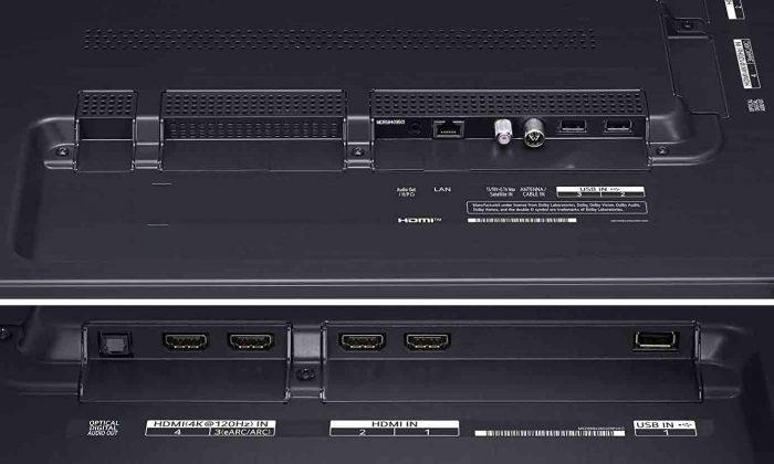 LG 55NANO856PA интерфейсы